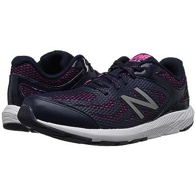 New Balance Kids KJ519v1Y (Little Kid/Big Kid) (Pigment/Pink Glo) Girls Shoes