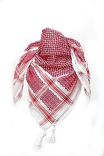 Sponsored Ad - Keffiyeh Shemagh men women Head Scarf Neck Handmade, Arab kufiya Shemag Tactical Desert 100% Cotton face ma...