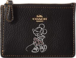 Boxed Minnie Mouse Mini Skinny ID Case ©Disney x COACH