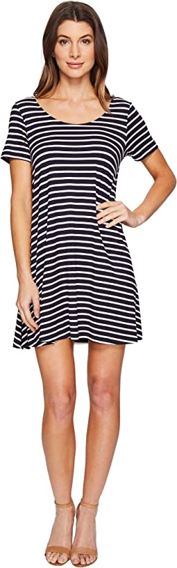 Culture Phit - Lea Short Sleeve Striped Dress