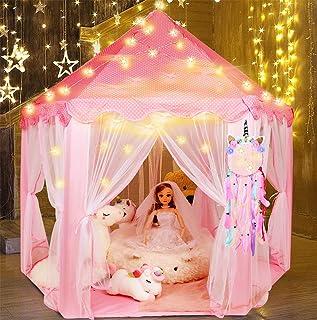 Tacobear Princesa Tienda Niñas Princesa Castillo Carpa Infa