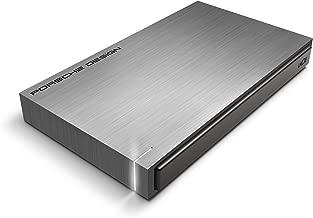 LaCie Porsche Design - Disco Duro Externo portátil para Mac y PC 500 GB (USB 3.0, 2.5'), Color Gris Oscuro