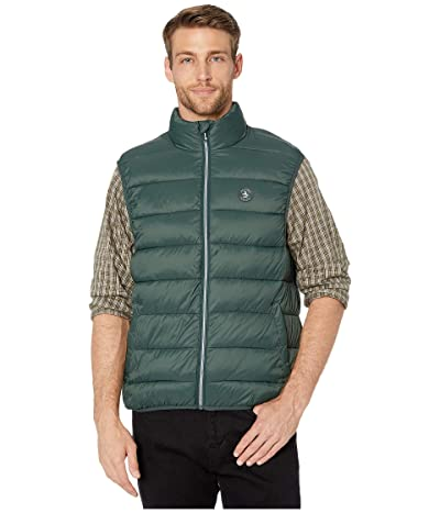 Original Penguin Lightweight Filled Vest (Darkest Spruce) Men