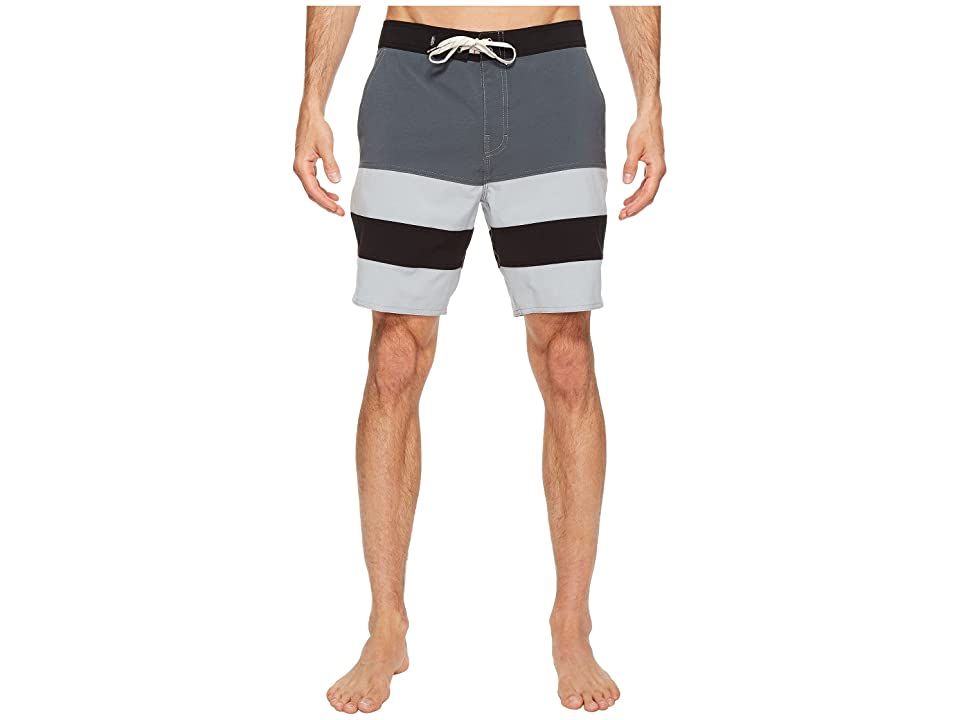 Vans Era Panel Boardshorts 19 (Dark Slate/Quarry) Men
