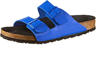 Birkenstock Arizona Birko-Flor Unisex Adult Sandals, Slim Size: 8 UK