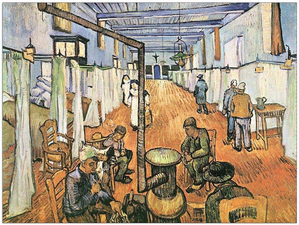 Latest item ArtPlaza Van Gogh Vincent - Dormitory Tulsa Mall in the Arles Hospital D
