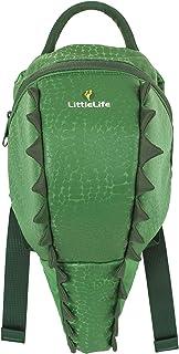 Toddler Backpack-Crocodile, Mochila pequeños-Cocodrilo Unisex Niños, Blanco, Talla Única