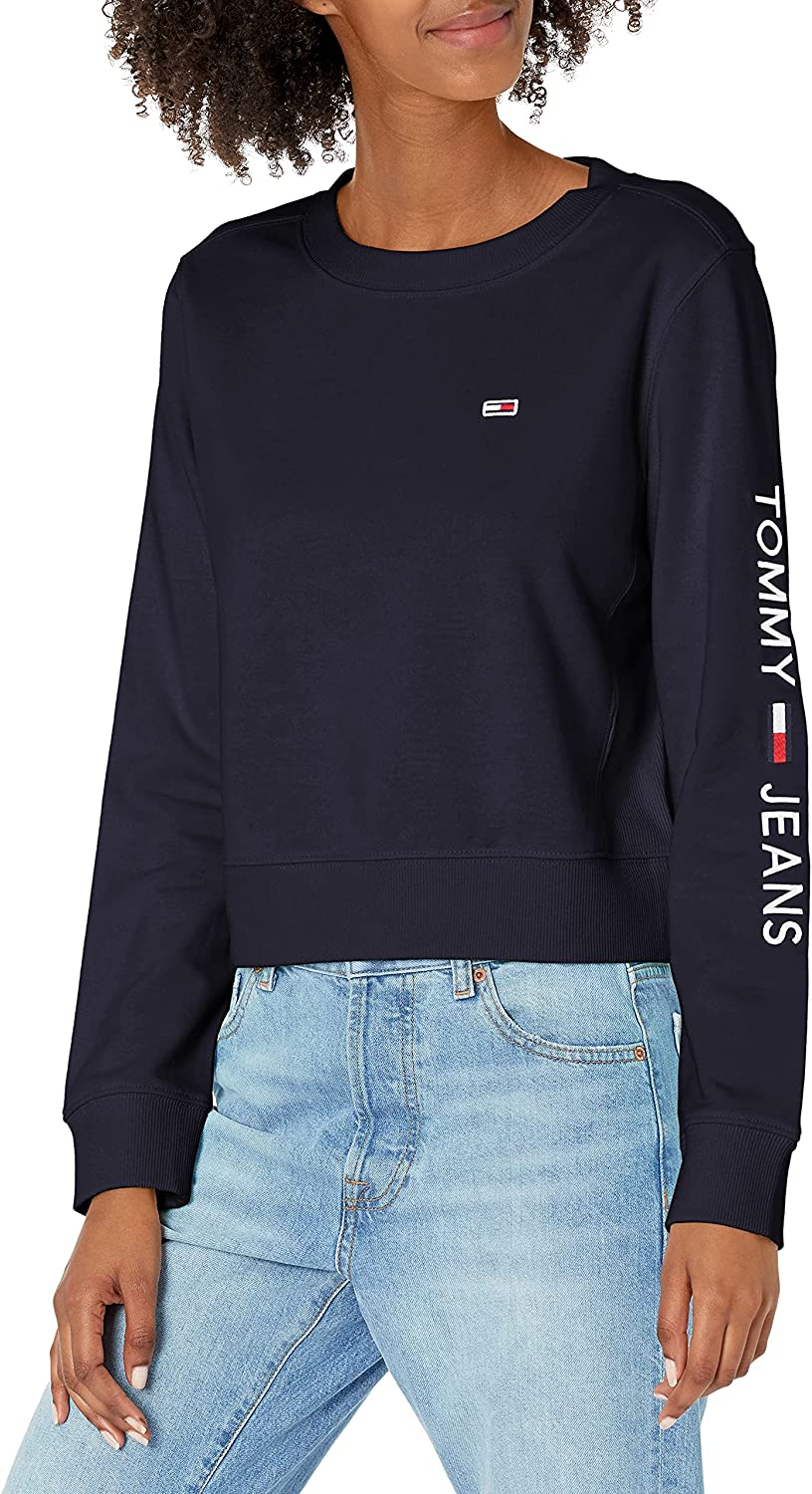 Tommy Manufacturer OFFicial shop Hilfiger Women's In a popularity Sweatshirt Crewneck Classic