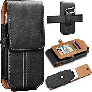 Tekcoo Phone Holster for Sumsung Galaxy S10/S10 Plus/S10E/Note 10/Note 10+/Note 9/A10/A20/A30/A50/J7/J3, Premium Leather C...