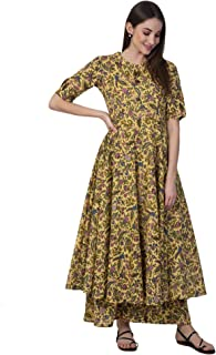 NYPA Women's Cotton Readymade Salwar Suit