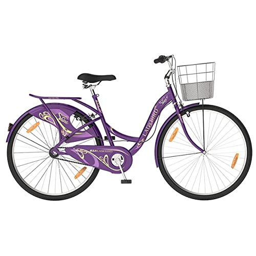 "BSA 26T Lady Bird Shine Version - 19"" Frame, Purple"