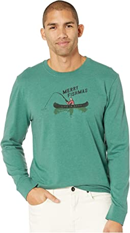 Merry Fishmas Crusher Long Sleeve T-Shirt