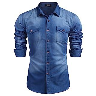 Blue Jeans Shirt for Men