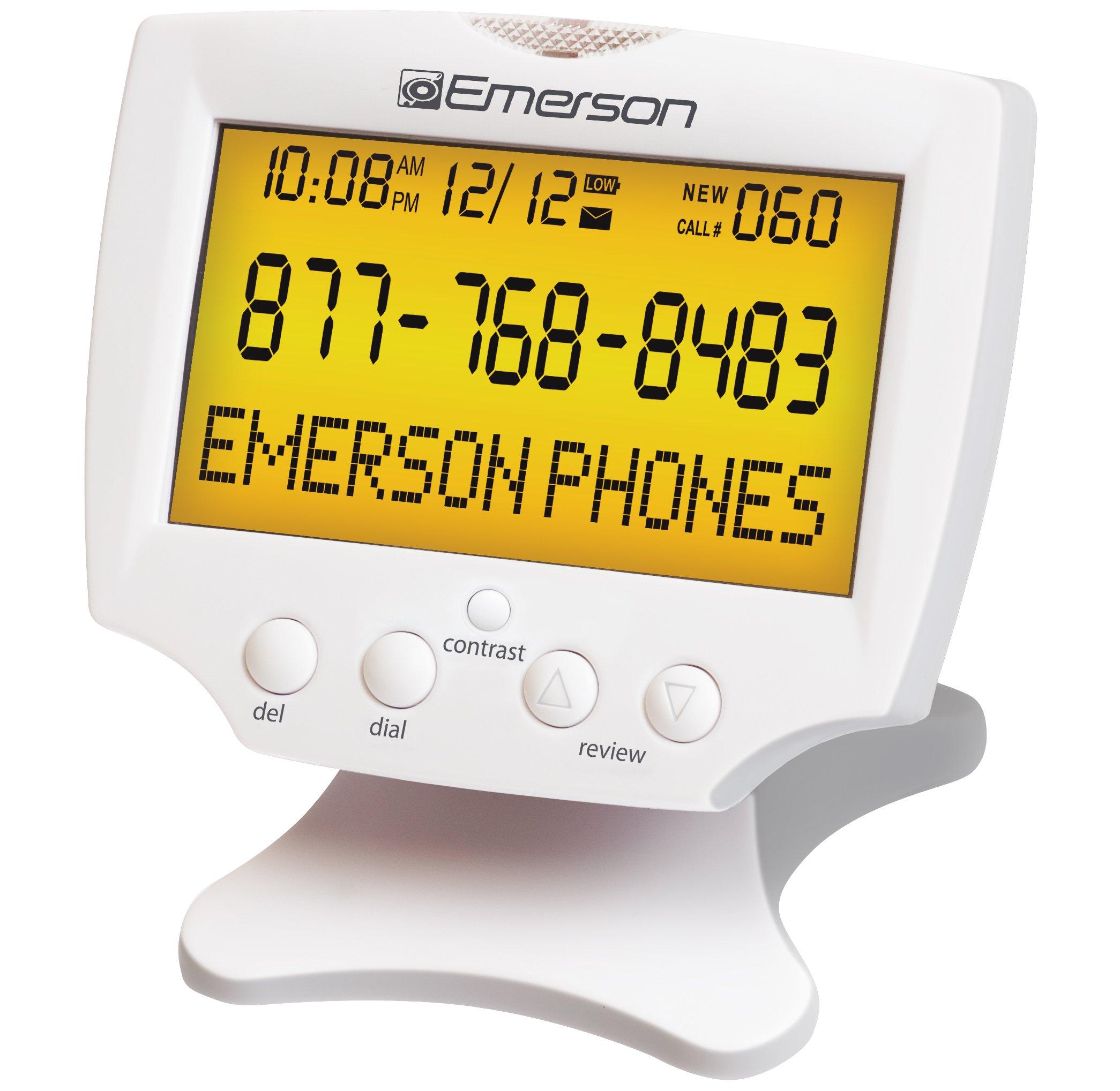 Emerson EM60 Display Talking Numbers
