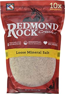 REDMOND Rock Crushed Loose Mineral Salt Electrolyte Supplement for Horses