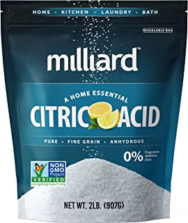 Best Milliard Citric Acid 2 Pound - 100% Pure Food Grade NON-GMO Project VERIFIED (2 Pound) Review