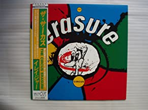 ★Erasure / the Circus - Japan Press Promo Lp with OBI