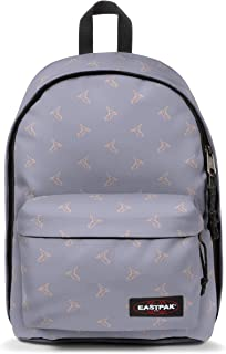 EASTPAK OUT OF OFFICE Sac à dos loisir, 44 cm, 27 liters, Violet (Minigami Birds)