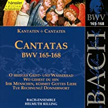 Bach Cantatas BWV 165-168