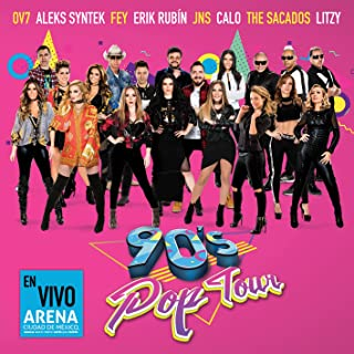 90's Pop Tour en Vivo Arena Ciudad de Mexico 'S
