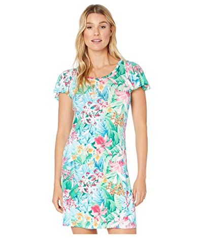 Tommy Bahama Valley Of Flowers Dress (White) Women