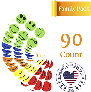 STOP BUGGING 90 Pack Mosquito Repellent Patches for Adults and Kids, 100% All Natural, Non- Toxic and Waterproof, (72-Hour) Protection Stickers |Deet Free|