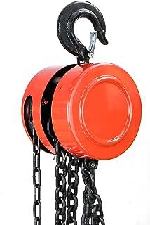 XtremepowerUS 4000lb Capacity 2 TON Chain Hoist Winch Lift Hoists