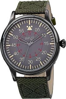 August Steiner Men's Urbane Analogue Display Quartz Watch with Textile Strap