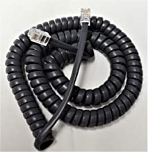 25 Pack of Gray 12' Ft Handset Cords for Avaya Phone Digital or IP Office 2400 4600 5400 5600 Series 2410 2420 4610 4620 4620SW 5410 5420 5610 5610SW 5620 5620SW 5621SW Curly Coil Lot by DIY-BizPhones