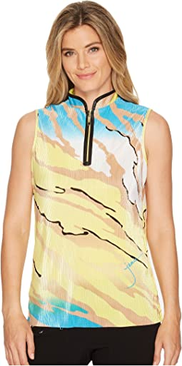 Le Tigre Crunchy Textured Sleeveless Top