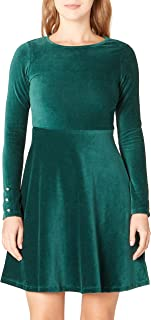 DeFacto Kolları İnci Detaylı Slim Fit Elbise Kadın Iş