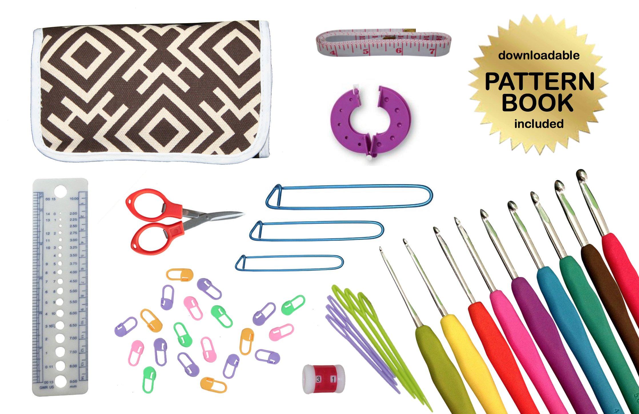 Brown Crochet Bag Pattern – Crochet Patterns Only