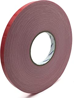 Pusdon Mounting Tape, Double Sided Foam Tape, 1/2-Inch x 30 Yards (13mm x 27.5m), Removable Weight Holding Capacity Tape
