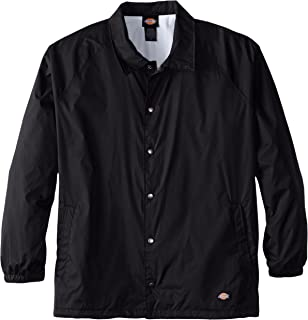 Dickies Men`s Big & Tall Snap Front Nylon Jacket
