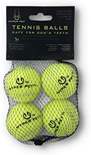 Hyper Pet Tennis Balls For Dogs, Pet Safe Dog Toys For Exercise & Training, Brightly Colored, Easy To Locate