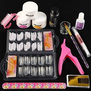 Shelloloh Juego Completo de Gel Acrílicos kit de Manicura