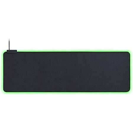 Razer Goliathus Extended Chroma Gaming Mousepad: Customizable Chroma RGB Lighting, Soft, Cloth Material, Balanced Control & Speed, Non-Slip Rubber Base, Classic Black