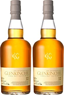 Glenkinchie 12 Years/Jahre, 2er, Single Malt, Whisky, Scotch, Alkohol, Alokoholgetränk, Flasche, 43%, 700 ml, 605392