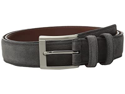 Torino Leather Co. 35MM Italian Calf Suede (Gray) Men