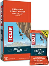 CLIF BAR - Sweet & Salty Energy Bars - Chocolate Peanut Butter - (2.4 Ounce Protein Bars, 12 Count)