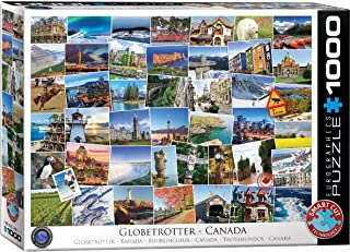 Eurographics 1000pcs - Globetrotter Canada