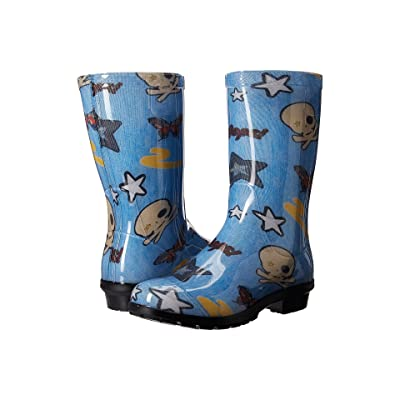 UGG Kids Raana Patches (Little Kid/Big Kid) (Denim) Girls Shoes