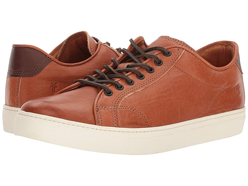 Frye Walker Low Lace (Chestnut Essex) Men's Lace up casual Shoes