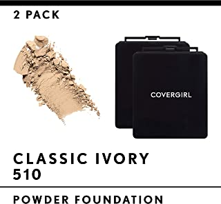 Covergirl Simply Powder Foundation, Classic Ivory 510, 2 Count