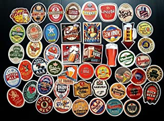 beer sticker collection