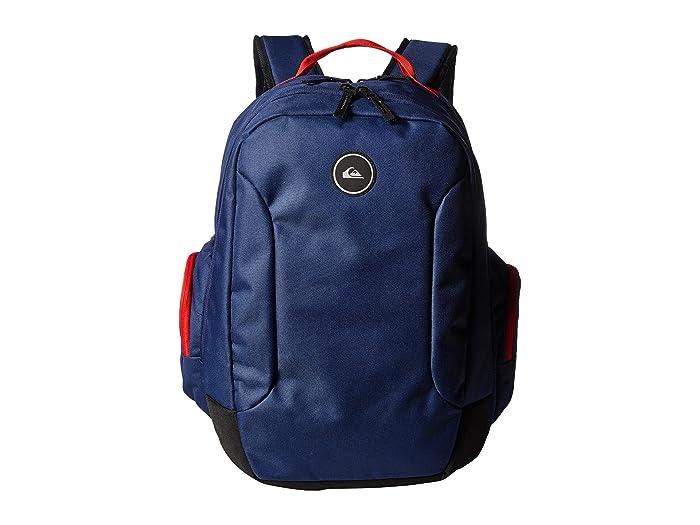 Quiksilver Schoolie II Backpack (Medieval Blue) Backpack Bags