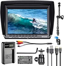 Neewer F100 7-inch 1280×800 IPS Screen Camera Field Monitor Kit: Support 4k Input..
