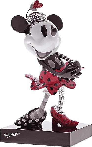Enesco Disney By Britto Steamboat Minnie 6 875 Stone Resin Figurine