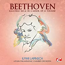 Beethoven: Bagatelle No. 25 in A Minor, Op. 59