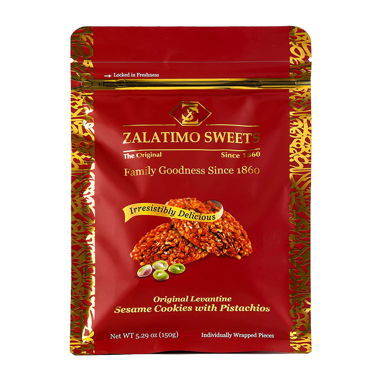Zalatimo Sweets Since 1860 100% Sesame Sales of SALE items from Product new works Sl Biscuits All-Natural